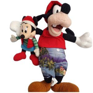 Disney/Goofy and Micky Mouse Stuffed Animals.